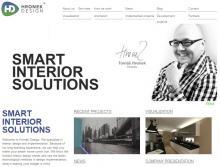 Hronek Design front-page